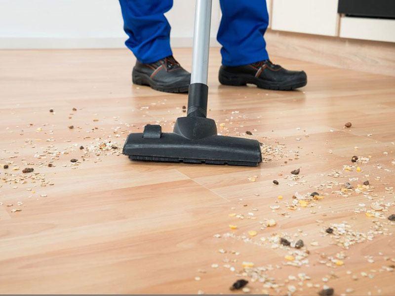 vệ sinh sàn gỗ công nghiệp chuyên nghiệp như một giải pháp