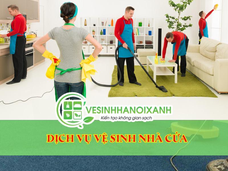 Dịch vụ vệ sinh nhà cửa chuyên nghiệp giá rẻ