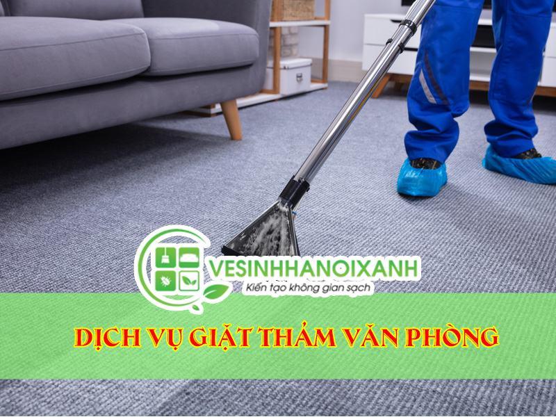 Dịch vụ giặt thảm văn phòng uy tín chất lượng tại Hà Nội